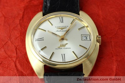 LONGINES ULTRA CHRON 18 CT GOLD AUTOMATIC KAL. 431 LP: 4200EUR [152460]