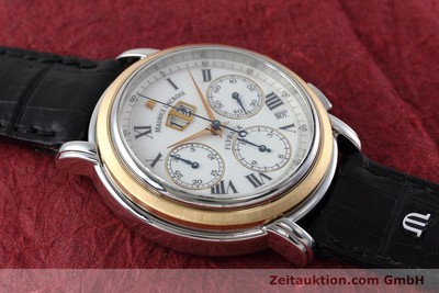 MAURICE LACROIX MASTERPIECE FLYBACK CHRONOGRAPH STEEL / GOLD AUTOMATIC KAL. ML15 ETA 2892A2 LP: 3250EUR [152467]