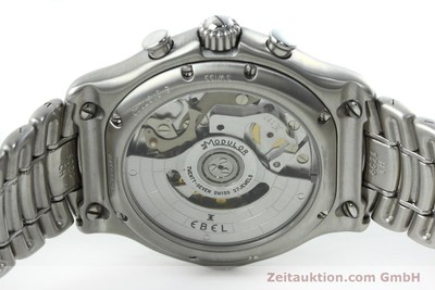 EBEL 1911 CHRONOGRAPH STEEL AUTOMATIC KAL. 137 [152477]