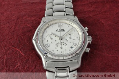 EBEL 1911 CHRONOGRAPH STEEL AUTOMATIC KAL. 137 [152480]