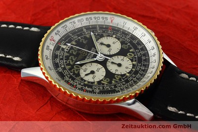 BREITLING NAVITIMER CHRONOGRAPH STEEL / GOLD MANUAL WINDING KAL. LEMANIA 1873 24 [152497]
