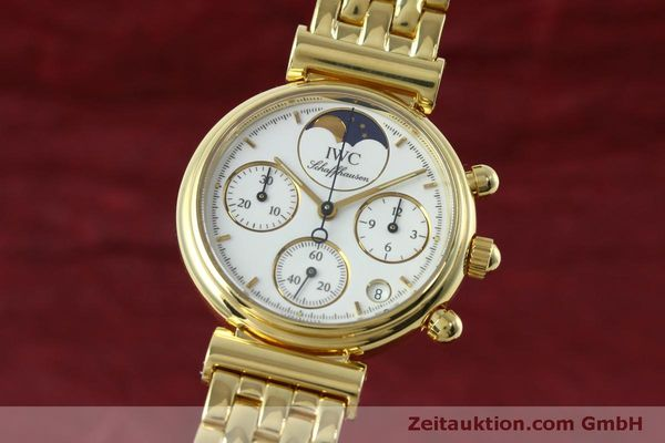 IWC DA VINCI CHRONOGRAPH 18 CT GOLD QUARTZ KAL. 630 [152498]