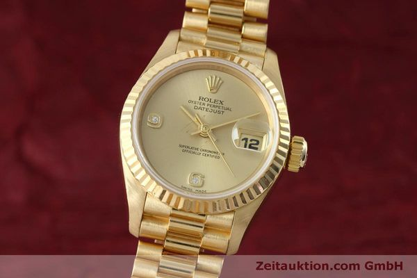 ROLEX LADY DATEJUST 18 CT GOLD AUTOMATIC KAL. 2135 LP: 20600EUR [152500]