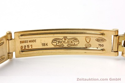 ROLEX LADY DATE OR 18 CT AUTOMATIQUE KAL. 2135 LP: 20600EUR [152501]