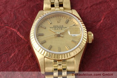 ROLEX LADY DATE 18 CT GOLD AUTOMATIC KAL. 2135 LP: 20600EUR [152501]