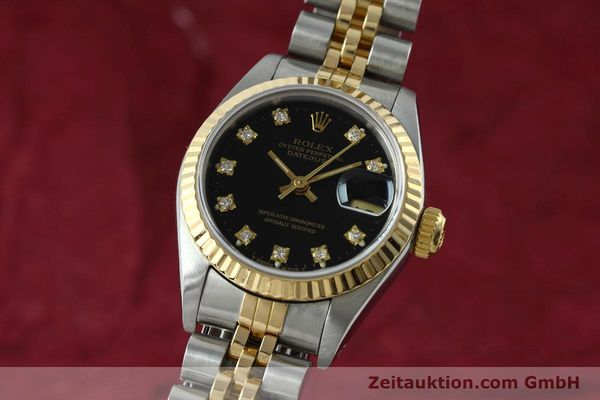 ROLEX LADY DATEJUST STEEL / GOLD AUTOMATIC KAL. 2135 LP: 9200EUR [152502]