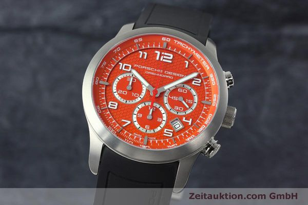 PORSCHE DESIGN DASHBORD CHRONOGRAPHE TITANE AUTOMATIQUE KAL. ETA 2894-2 LP: 4300EUR [152519]