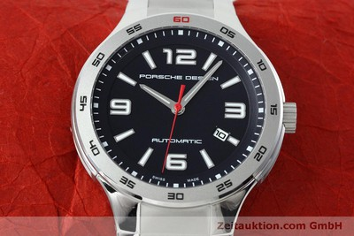 PORSCHE DESIGN FLAT SIX STEEL AUTOMATIC KAL. SW300 LP: 2250EUR [152522]