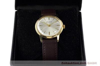 GLASHÜTTE GOLD-PLATED MANUAL WINDING KAL. 70.1 VINTAGE [152526]