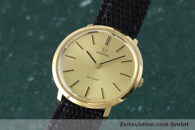 OMEGA DE VILLE 18 CT GOLD MANUAL WINDING KAL. 620 LP: 6710EUR VINTAGE [152532]