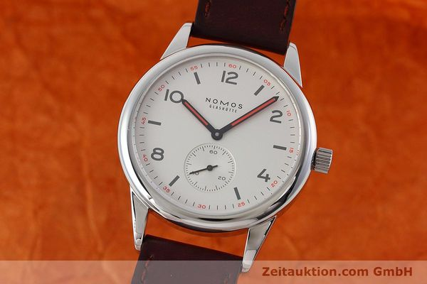 NOMOS CLUB STEEL AUTOMATIC KAL. EPSILON 9012 LP: 2020EUR [152558]