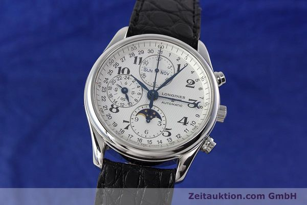 LONGINES MASTER COLLECTION KALENDER CHRONOGRAPH MONDPHASE L2.673.4 NP: 2770,- Euro [152574]