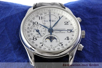 LONGINES MASTER COLLECTION CHRONOGRAPH STEEL AUTOMATIC KAL. L678.2 ETA 7751 LP: 2770EUR [152574]