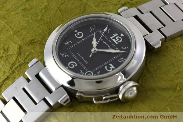 Used luxury watch Cartier Pasha steel automatic Kal. 049 ETA 2892A2 Ref. 2324  | 152576 01