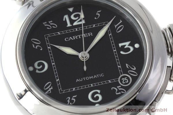 Used luxury watch Cartier Pasha steel automatic Kal. 049 ETA 2892A2 Ref. 2324  | 152576 02
