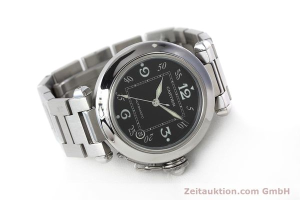 Used luxury watch Cartier Pasha steel automatic Kal. 049 ETA 2892A2 Ref. 2324  | 152576 03