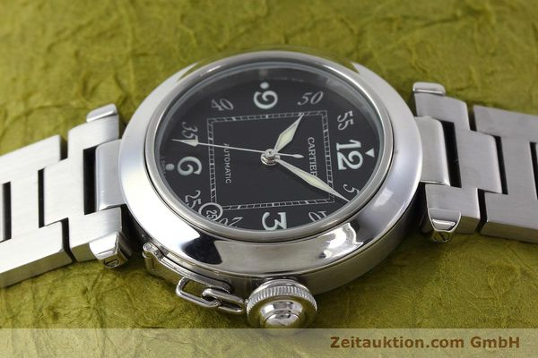 Used luxury watch Cartier Pasha steel automatic Kal. 049 ETA 2892A2 Ref. 2324  | 152576 05