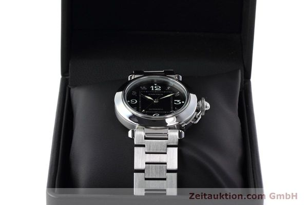 Used luxury watch Cartier Pasha steel automatic Kal. 049 ETA 2892A2 Ref. 2324  | 152576 07