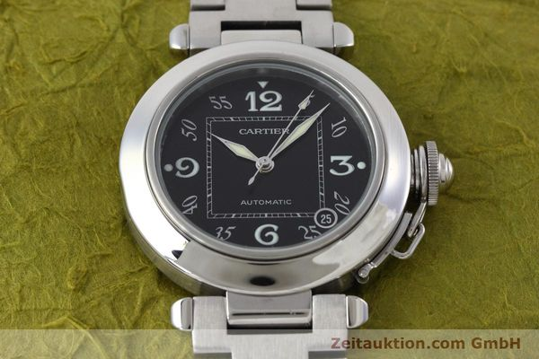 Used luxury watch Cartier Pasha steel automatic Kal. 049 ETA 2892A2 Ref. 2324  | 152576 15