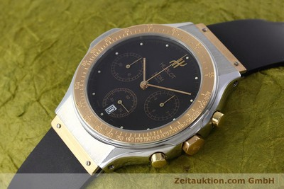 HUBLOT MDM CHRONOGRAPHE ACIER / OR QUARTZ KAL. 1270 [152579]