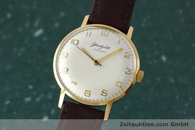 GLASHÜTTE GOLD-PLATED MANUAL WINDING KAL. 70.1 [152587]