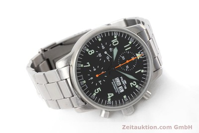 FORTIS FLIEGER CHRONOGRAPH CHRONOGRAPH STEEL AUTOMATIC KAL. ETA 7750 [152589]
