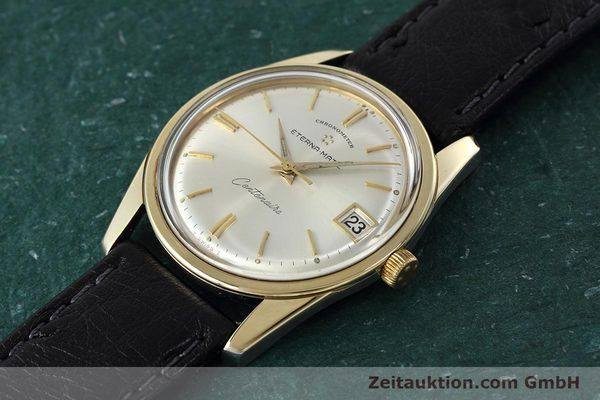 Used luxury watch Eterna Centenaire steel / gold automatic Kal. 1439U VINTAGE  | 152595 01