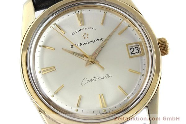 Used luxury watch Eterna Centenaire steel / gold automatic Kal. 1439U VINTAGE  | 152595 02
