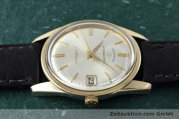 Used luxury watch Eterna Centenaire steel / gold automatic Kal. 1439U VINTAGE  | 152595 05