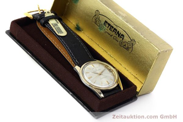 Used luxury watch Eterna Centenaire steel / gold automatic Kal. 1439U VINTAGE  | 152595 07