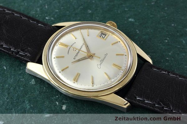 Used luxury watch Eterna Centenaire steel / gold automatic Kal. 1439U VINTAGE  | 152595 13