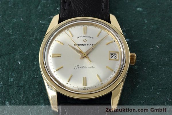 Used luxury watch Eterna Centenaire steel / gold automatic Kal. 1439U VINTAGE  | 152595 14