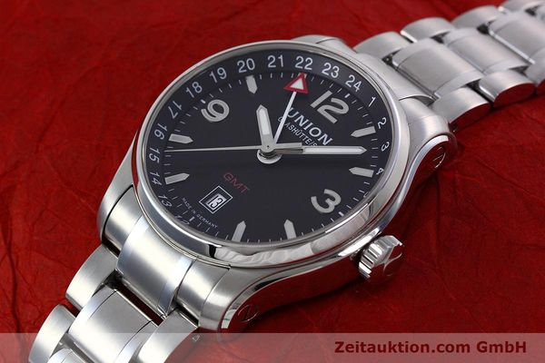 Used luxury watch Union Glashütte Belisar steel automatic Kal. U2893-2 ETA 2893-2 Ref. D002.429.A  | 152600 01