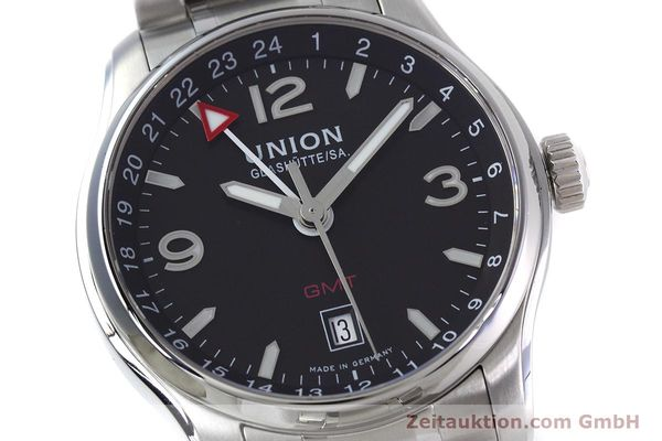 Used luxury watch Union Glashütte Belisar steel automatic Kal. U2893-2 ETA 2893-2 Ref. D002.429.A  | 152600 02