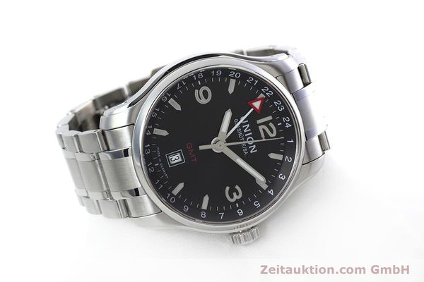 Used luxury watch Union Glashütte Belisar steel automatic Kal. U2893-2 ETA 2893-2 Ref. D002.429.A  | 152600 03