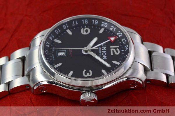 Used luxury watch Union Glashütte Belisar steel automatic Kal. U2893-2 ETA 2893-2 Ref. D002.429.A  | 152600 05