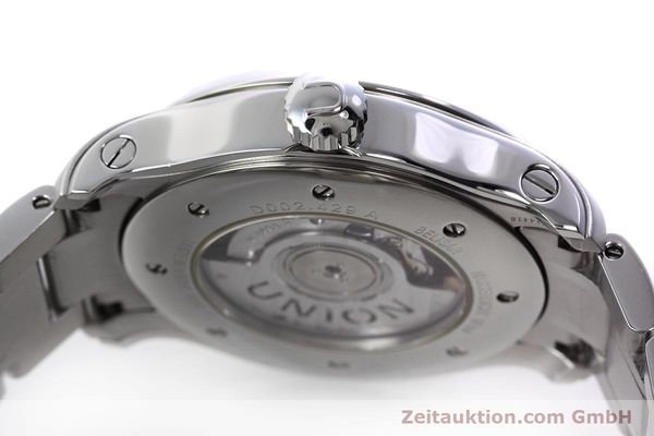 Used luxury watch Union Glashütte Belisar steel automatic Kal. U2893-2 ETA 2893-2 Ref. D002.429.A  | 152600 11
