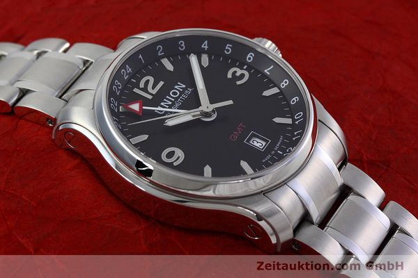 Used luxury watch Union Glashütte Belisar steel automatic Kal. U2893-2 ETA 2893-2 Ref. D002.429.A  | 152600 14