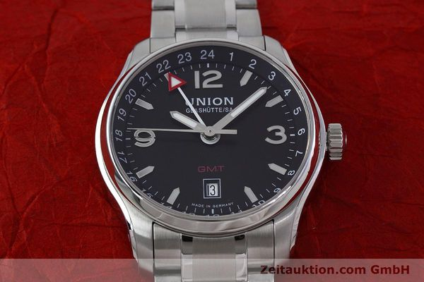 Used luxury watch Union Glashütte Belisar steel automatic Kal. U2893-2 ETA 2893-2 Ref. D002.429.A  | 152600 15