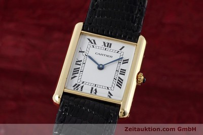 CARTIER TANK ORO 18 CT QUARZO KAL. 90.09 [152611]