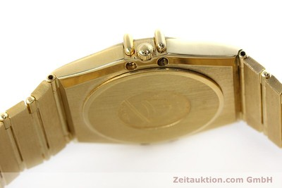 OMEGA CONSTELLATION 18 CT GOLD QUARTZ KAL. 1444 LP: 27200EUR [152612]