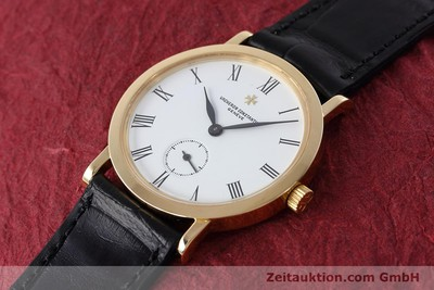 VACHERON & CONSTANTIN 18 CT GOLD MANUAL WINDING KAL. 1014/1 [152613]