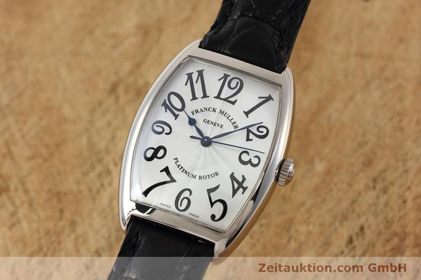FRANCK MULLER OR BLANC 18 CT AUTOMATIQUE KAL. 2800 ETA 2892A2 [152615]