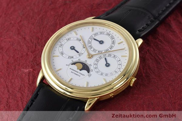 Used luxury watch Audemars Piguet Ewiger Kalender 18 ct gold automatic Kal. 2120/1  | 152621 01