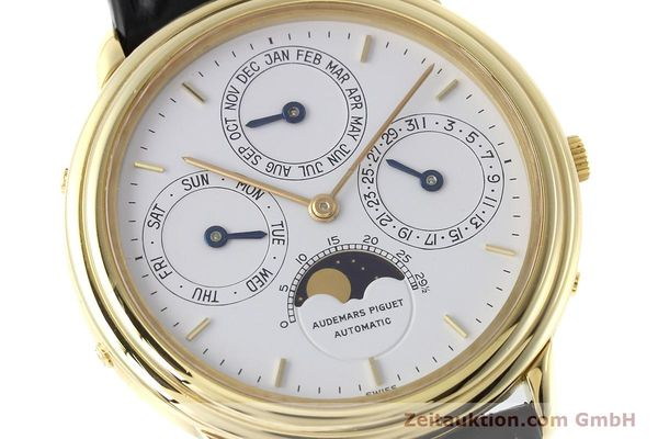 Used luxury watch Audemars Piguet Ewiger Kalender 18 ct gold automatic Kal. 2120/1  | 152621 02