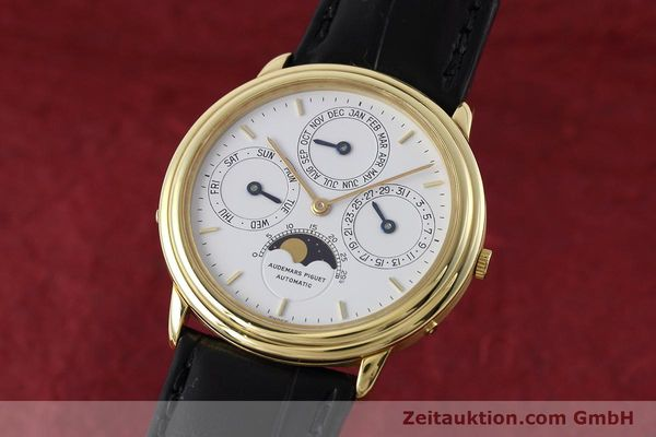 Used luxury watch Audemars Piguet Ewiger Kalender 18 ct gold automatic Kal. 2120/1  | 152621 04