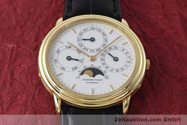 Used luxury watch Audemars Piguet Ewiger Kalender 18 ct gold automatic Kal. 2120/1  | 152621 15