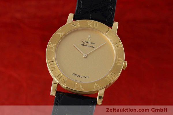 CORUM ROMULUS OR 18 CT AUTOMATIQUE LP: 20275EUR [152624]