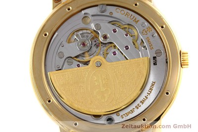 CORUM ROMULUS 18 CT GOLD AUTOMATIC LP: 20275EUR [152624]