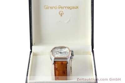 GIRARD PERREGAUX RICHEVILLE CHRONOGRAPH STEEL / GOLD MANUAL WINDING KAL. LWO 1872 LP: 11500EUR [152626]